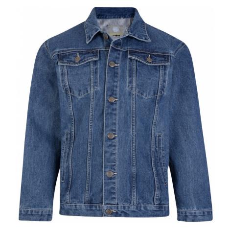 KAM bunda pánská KBS 401 džíska riflová nadměrná velikost