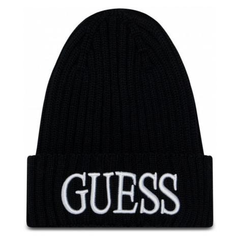 Guess GUESS pánská černá čepice QUARTO