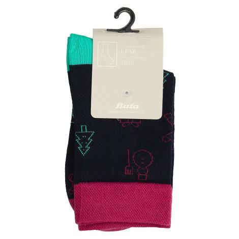 Unisex ponožky s vánočními motivy Baťa