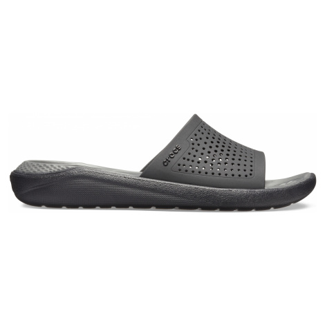 Crocs LiteRide Slide Black/Slate Grey