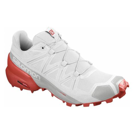 Obuv Salomon Speedcross 5 M - bílá/červená