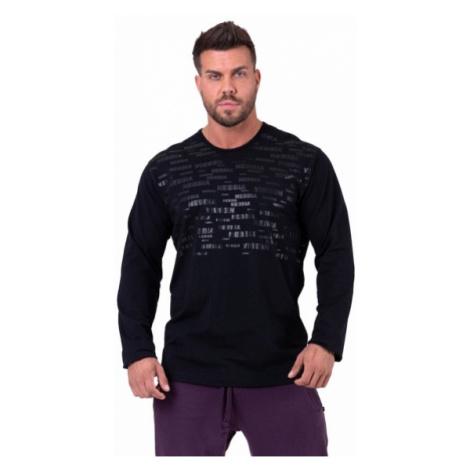 Nebbia More than basic! tričko s dlouhým rukávem 147 černé