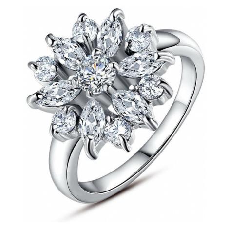 Linda's Jewelry Prsten bižuterie Flower Shiny IPR026 Velikost: 56