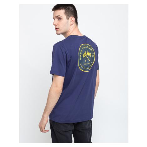 Makia Pursuit T-shirt Blue