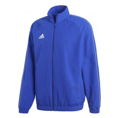 adidas CORE18 PRE JKT modrá M - Sportovní pánská bunda