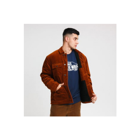 Carhartt WIP Corduroy Michigan Coat hnědá