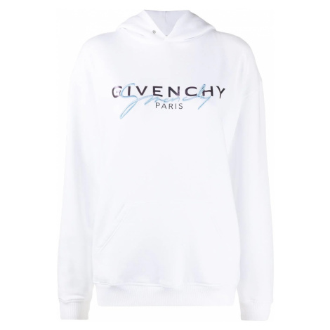 GIVENCHY Paris Logo White mikina