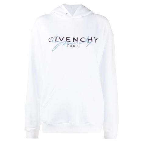 GIVENCHY Paris Logo White mikina
