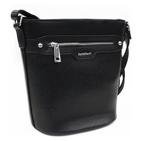 Černá menší crossbody dámská kabelka Fernne Mahel