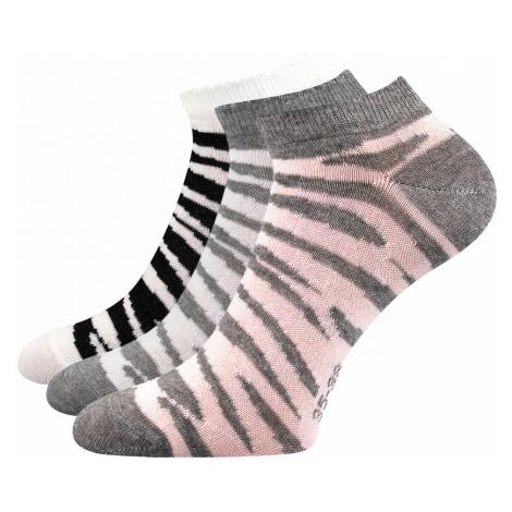 3 PACK dámských ponožek Piki 57 mix Boma