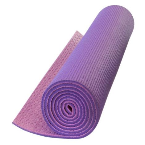 Podložka Yate Yoga Mat dvouvrstvá Barva: tmavě fialová/růžová