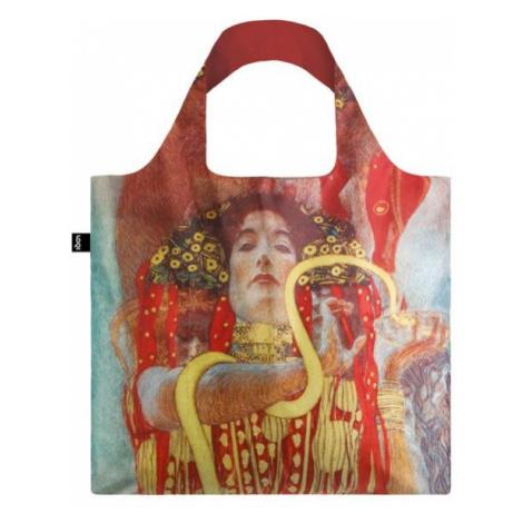 Skládací nákupní taška LOQI GUSTAV KLIMT Hygieia