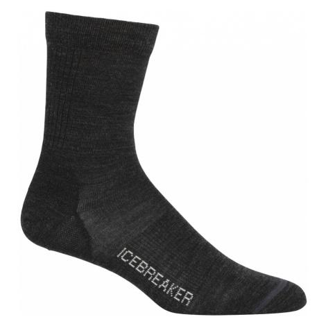 Dámské ponožky ICEBREAKER Wmns Lifestyle Ultralight Crew, Jet HTHR Icebreaker Merino