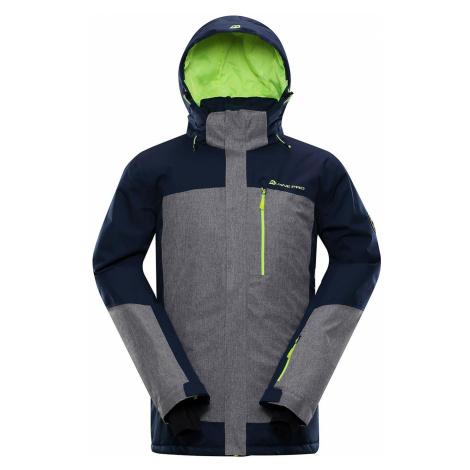 Pánská lyžařská bunda Alpine Pro SARDAR 3 - tmavě modrá