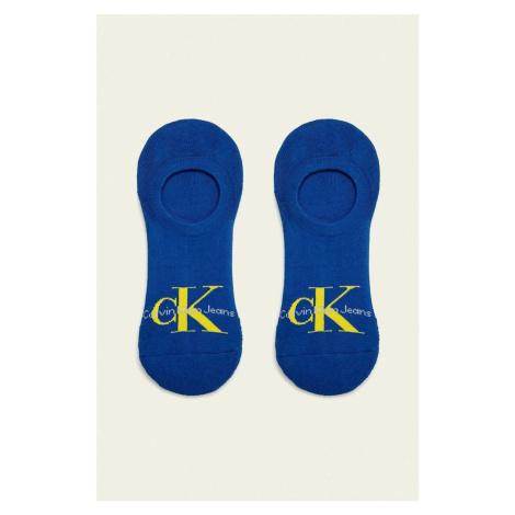 Calvin Klein pánské modré ponožky