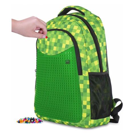 PIXIE CREW studentský batoh MINECRAFT zelená kostka