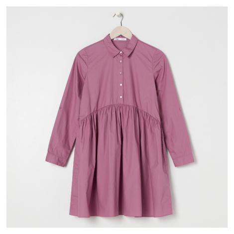 Sinsay - Šaty s límcem - Růžová