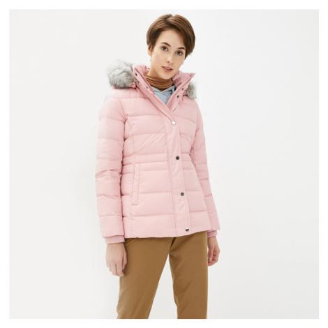 Tommy Hilfiger dámská starorůžová zimní bunda Tyra