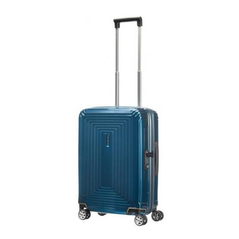 SAMSONITE Kufr Neopulse Spinner 55/20 Cabin Metallic Blue, 40 x 20 x 55 (65752/1541)