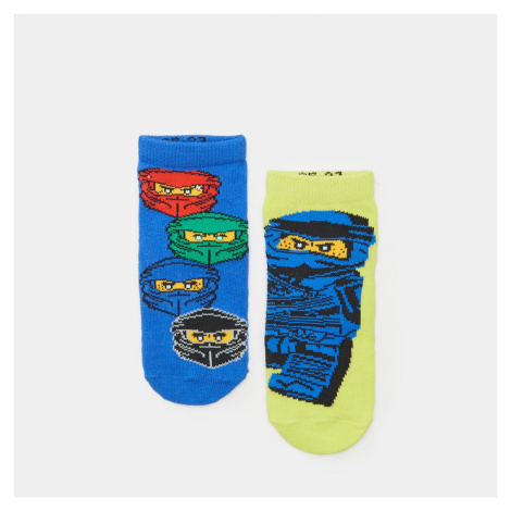 Sinsay - Sada 2 párů ponožek LEGO - Zelená