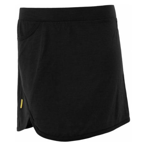 MERINO ACTIVE Dámská sukně 18100015 černá Sensor