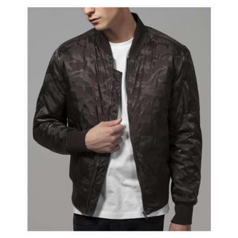 Bunda Urban Classics Tonal Camo Bomber Jacket - dark olive