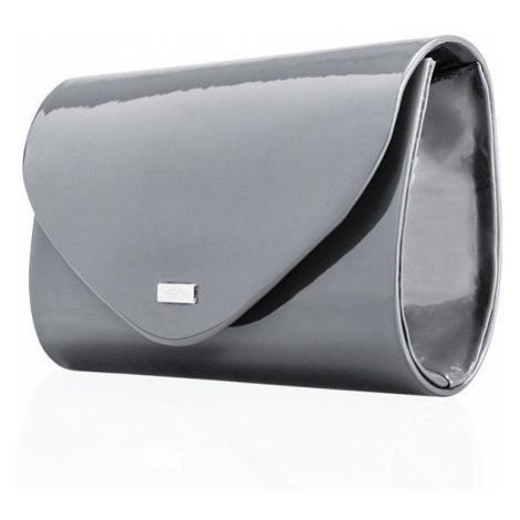 Společenské psaníčko kabelka z eko kůže s dlouhým popruhem
