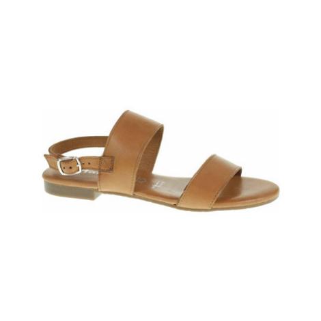 Tamaris Dámské sandály 1-28133-24 cuoio Hnědá