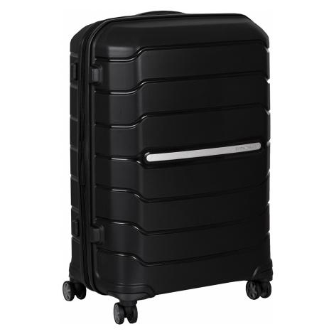 Střední černý kufr na kolečkách Samsonite