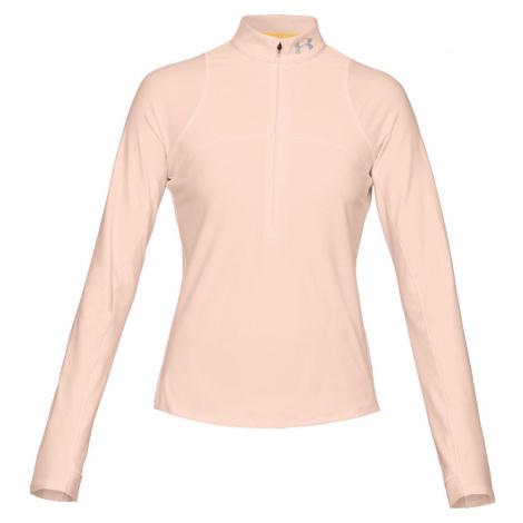 Dámské tričko Under Armour Qlifier Růžová / Stříbrná