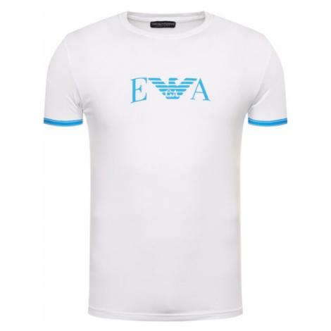 Pánské triko Emporio Armani 11035 0P523 bílá | modrá