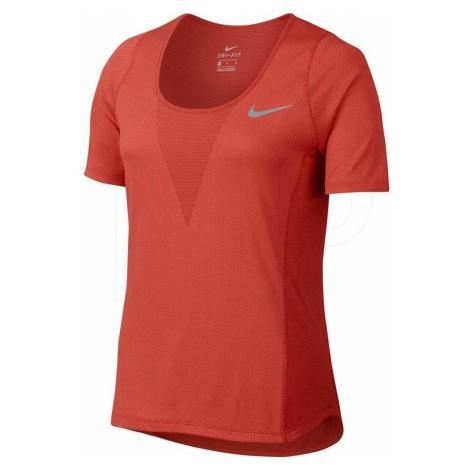 Dámské tričko Nike ZNL CL Relay Top SS Oranžová