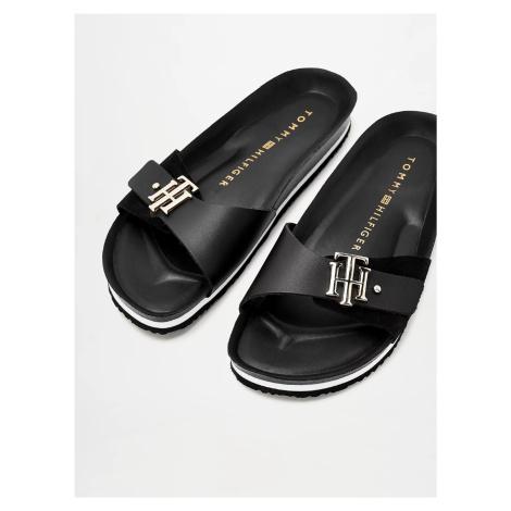 Tommy Hilfiger dámské černé sandály