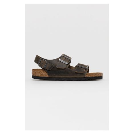 Birkenstock - Kožené sandály Milano