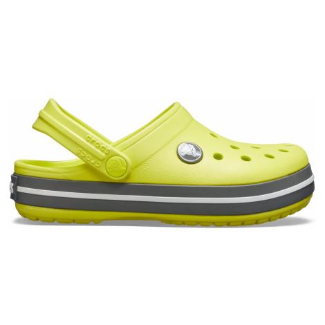 Crocs Crocband Clog K Citrus/Slate Grey C6