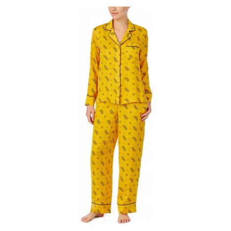 DKNY dámské pyžamo YI2819475 - Žlutá