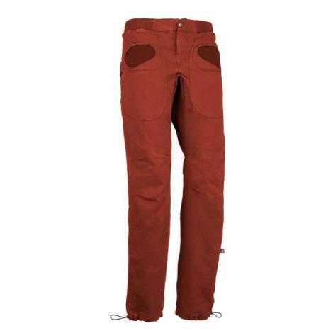 E9 kalhoty pánské Rondo Slim, červená