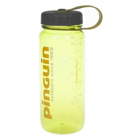 Pinguin Tritan Slim Bottle 0,65l, žlutá
