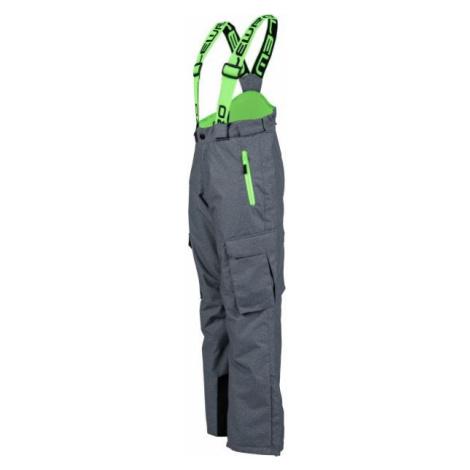 Lewro NILES zelená - Dětské snowboardové kalhoty
