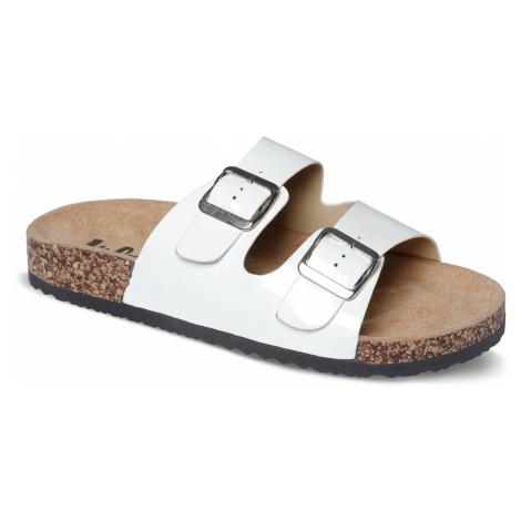 Lee Cooper bílé pantofle Lady´s Off White