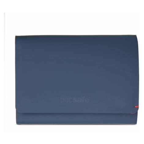 Peněženka Pacsafe RFIDSafe Tec Trifold navy/red Barva: modrá/červená