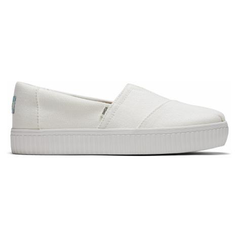 WHITE CANVAS WM ALIN SLIPON Toms