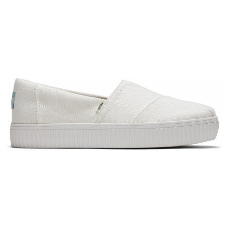 WHITE CANVAS WM ALIN SLIPON