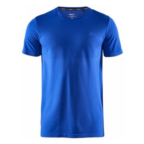 Pánské tričko CRAFT Fuseknit Light SS modrá