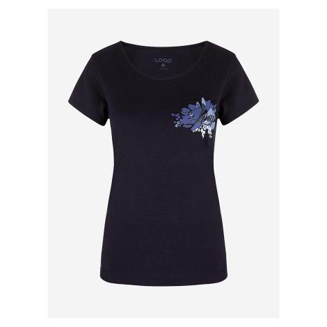 Tričko Loap Astraia Modrá