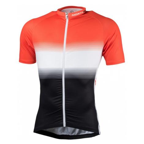 NORTHFINDER VALENTINO Pánské cyklistické triko TR-3375SII277 černá