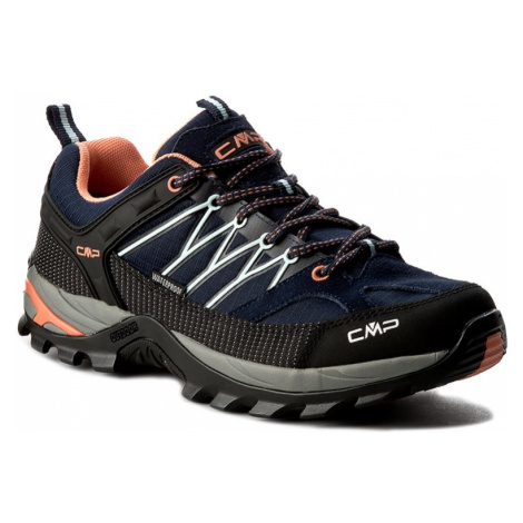 Trekingová obuv CMP - Rigel Low Wmn Trekking Shoes Wp 3Q54456 B.Blue/Giada/Peach 92AD