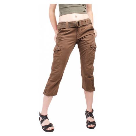 TOMMY HILFIGER dámské 3/4 hnědé kalhoty