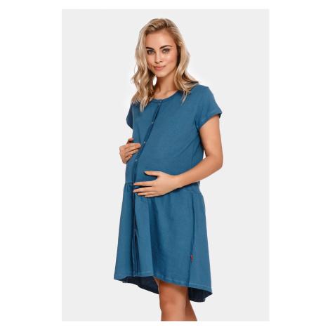 Mateřská kojicí košilka Tasca Blue Doctor Nap