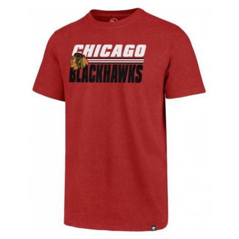 47 NHL CHICAGO BLACKHAWKS SHADOW CLUB TEE - Pánské tričko